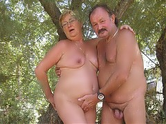 Nudist grannies proud to pose naked
